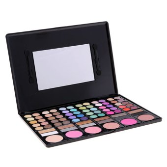 Cyber Women Cosmetics Professional 78 Colors Eyeshadow MakeupPalette Kit (Intl) - intl