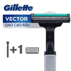 Dao cạo râu Gillette Vector Plus 1Up