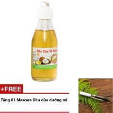 Dầu Dừa Đắp Mặt Nạ 200ml + Tặng Mascara Dầu Dừa Dưỡng Mi 5ml