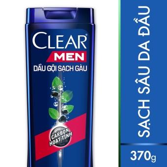 Dầu gội Clear Men Deep Clean sạch sâu 370g