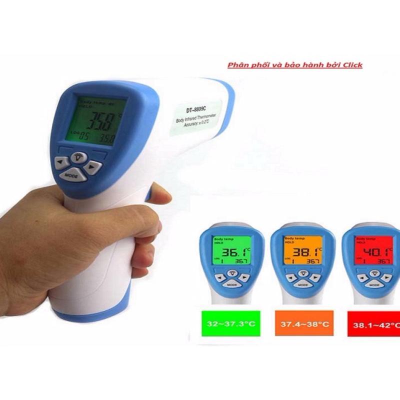 đo nhiệt độ cho bé Nhiệt kế hồng ngoại chính xác tuyệt đối, an toàn tiện dụng - Phân phối và bảo hành bởi Click - Buy bán chạy