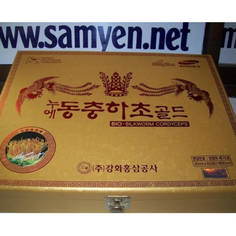 Nơi bán Đông trùng hạ thảo hộp gỗ KangHwa bổ phổi 60 gói x 30ml