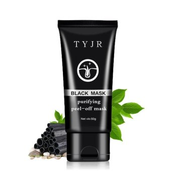 Fashion General Peel Off Blackhead Remover Acne Mud Nose Black Mask50g