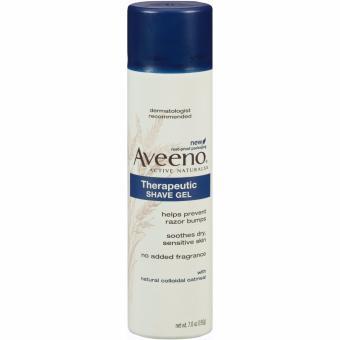 Gel cạo râu nam Aveeno Therapeutic Shave Gel 198g