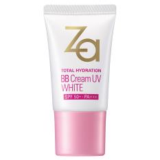 Kem Bb Trang Điểm Dưỡng Trắng Za Total Hydration Bb Cream Uv White 20 G