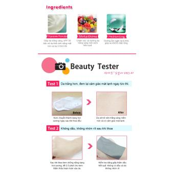 Kem chống nắng trắng da Cathy Doll L-glutathione Magic Cream SPF50PA+++ 138ml - 5