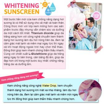 Kem chống nắng trắng da Cathy Doll L-glutathione Magic Cream SPF50PA+++ 138ml - 3