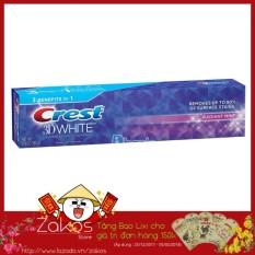 Kem đánh răng Crest 3D White Radiant Mint Flavor Whitening 181Gram