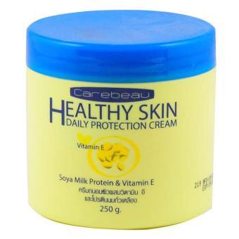 Kem dưỡng ẩm toàn thân Vitamin E Body Cream Carebeau Thái Lan - Nắp Xanh 250g