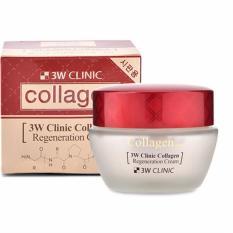 Địa Chỉ Bán Kem Dưỡng Da Chống Lão Hóa 3w Clinic Collagen Regeneration Cream 60 Ml