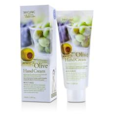 Kem Dưỡng Da Tay Chiết Xuất Ô-Liu 3w Clinic Olive Hand Cream 100ml