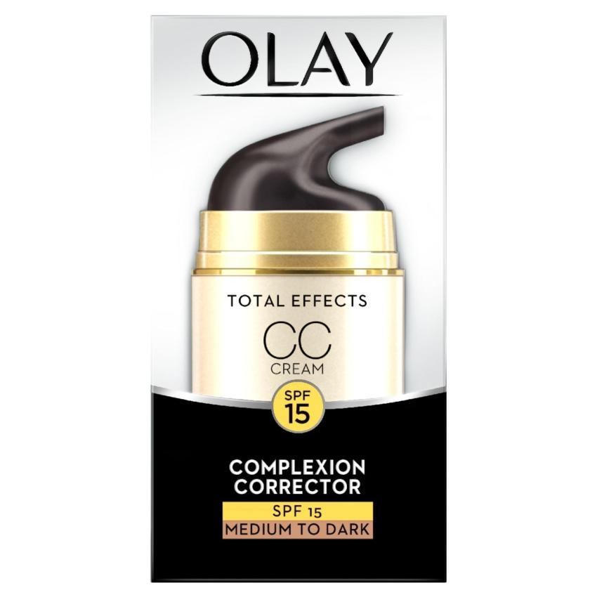 Kem dưỡng trang điểm màu da Olay Total Effects 7 in 1 CC cream chống nắng SPF 15 50 ml...