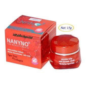 Kem dưỡng trắng Ngừa tàn nhang Đồi mồi NaNyNo (15g)