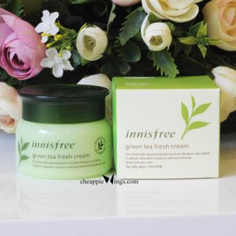 Kem Green Tea Fresh Cream Innisfree (For Oily Skin) Hàn quốc 50ml