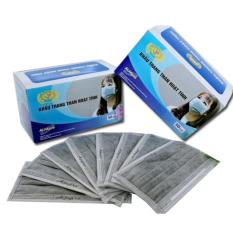 Khẩu trang y tế than hoạt tính, 4 lớp dày - Alfapro