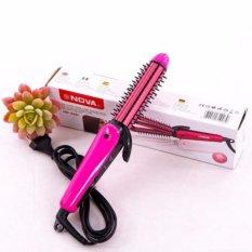 Giá Lược điện tạo kiểu tóc 3 in 1 cao cấp màu hồng