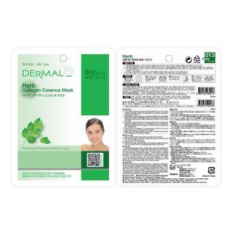 Mặt nạ dưỡng da tinh chất thảo mộc Dermal Herb Collagen Essence Mask 23g - 2