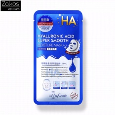 Giá bán Mặt nạ siêu cấp ẩm MayCreate HA Xanh Hyaluronic Acid Super Smooth Moisture Mask – Zo Beauty