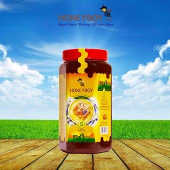 Mật Ong Thiên Nhiên 5 Sạch Honeyboy 1kg