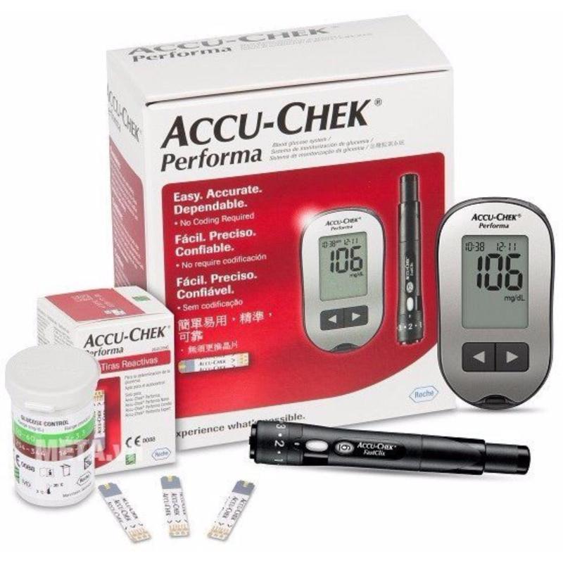 Nơi bán Máy đo đường huyết ACCU - CHEK Performa