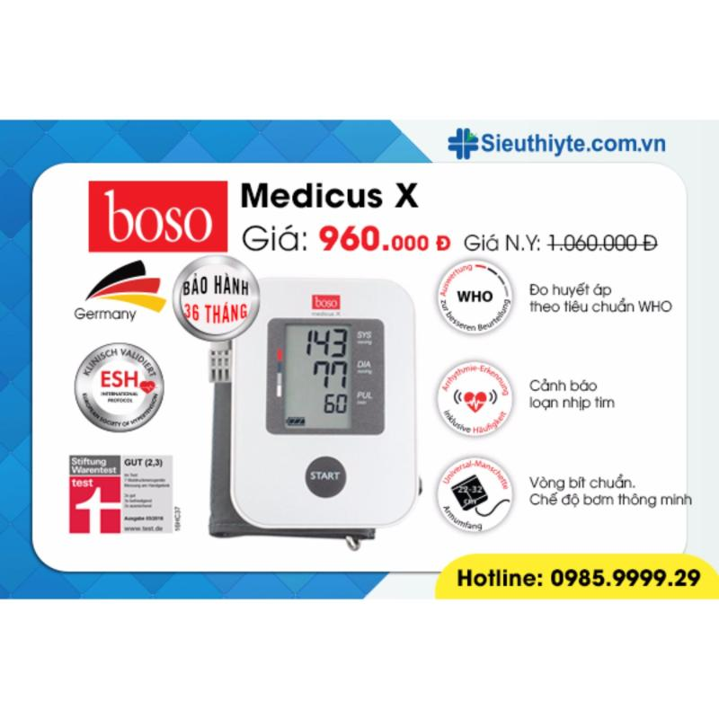 Nơi bán Máy đo huyết áp bắp tay Boso Medicus X