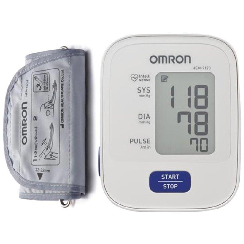 Nơi bán Máy đo huyết áp bắp tay Omron HEM-7120 (Trắng)