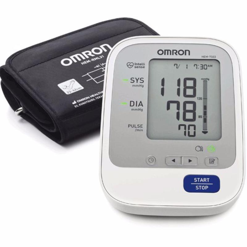 Nơi bán Máy đo huyết áp bắp tay tự động Omron HEM-7322 (Siêu cao cấp)
