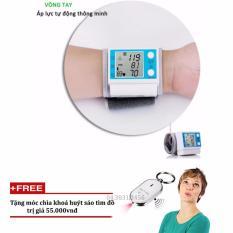 Máy đo huyết áp cá nhân Healthy life JZK-001 + Tặng móc khóa huyết sáo