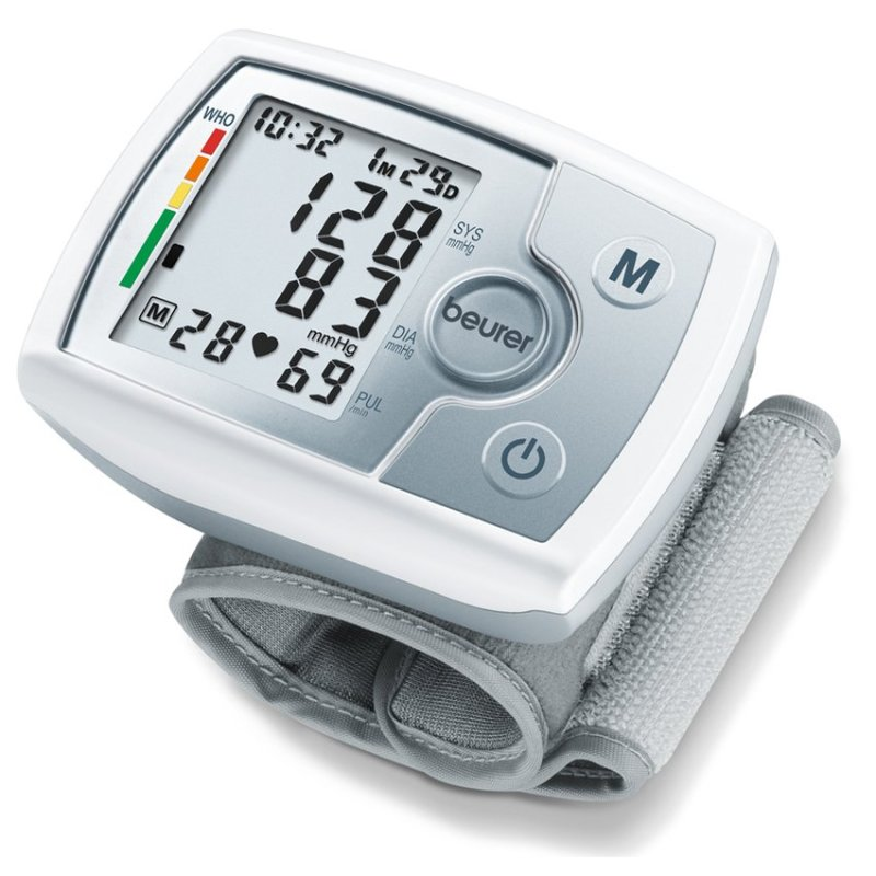 Nơi bán Máy đo huyết áp cổ tay Beurer BC31 (xám)