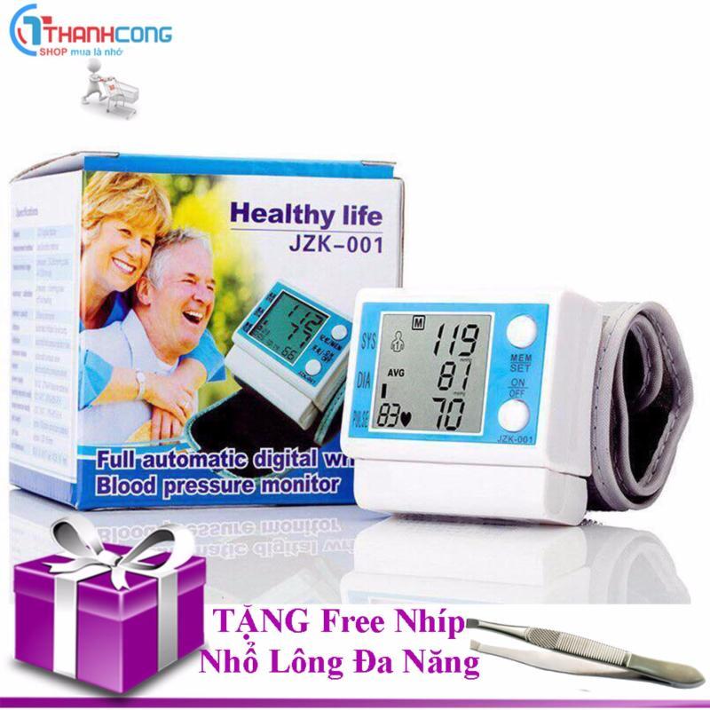 Nơi bán Máy đo huyết áp cổ tay HEALTHY LIFE JZK-001 ( tặng nhíp nhổ lông )