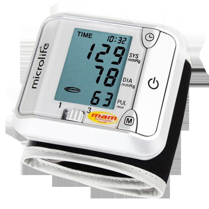 Nơi bán Máy đo huyết áp cổ tay Microlife BP 3BJ1-4D (Trắng)