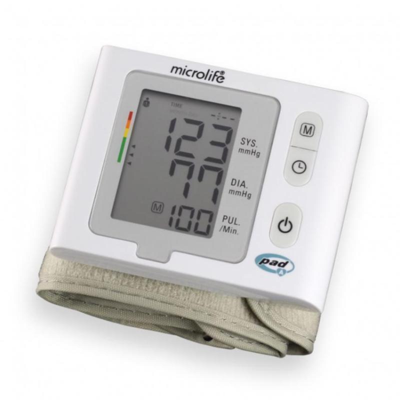 Nơi bán Máy đo huyết áp cổ tay Microlife BP W2 Slim Trắng
