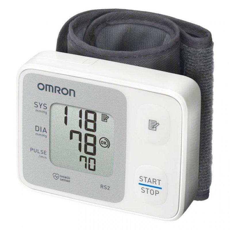 Nơi bán Máy đo huyết áp cổ tay Nhật bản Omron HEM-6121 (Trắng)