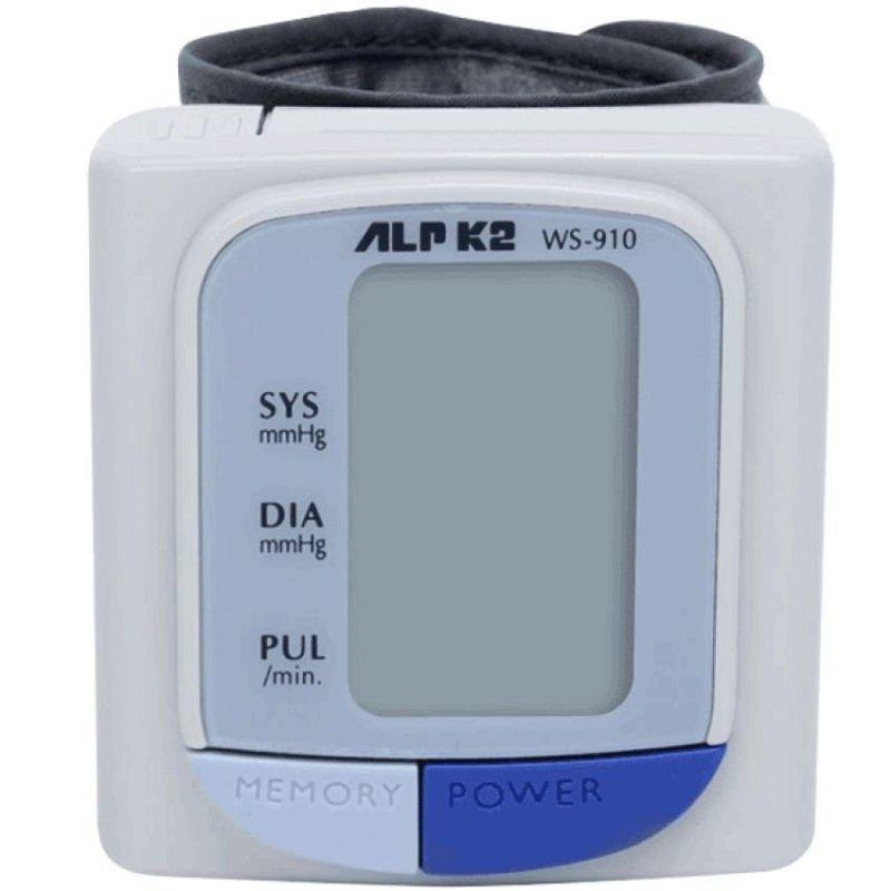 Nơi bán Máy đo huyết áp điện tử cổ tay ALPK2 WS-910 (Trắng)
