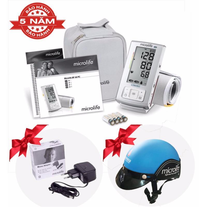 Nơi bán Máy đo huyết áp Microlife BP A6 Basic - Cảnh báo đột quỵ Siêu cao cấp - Thụy Sỹ