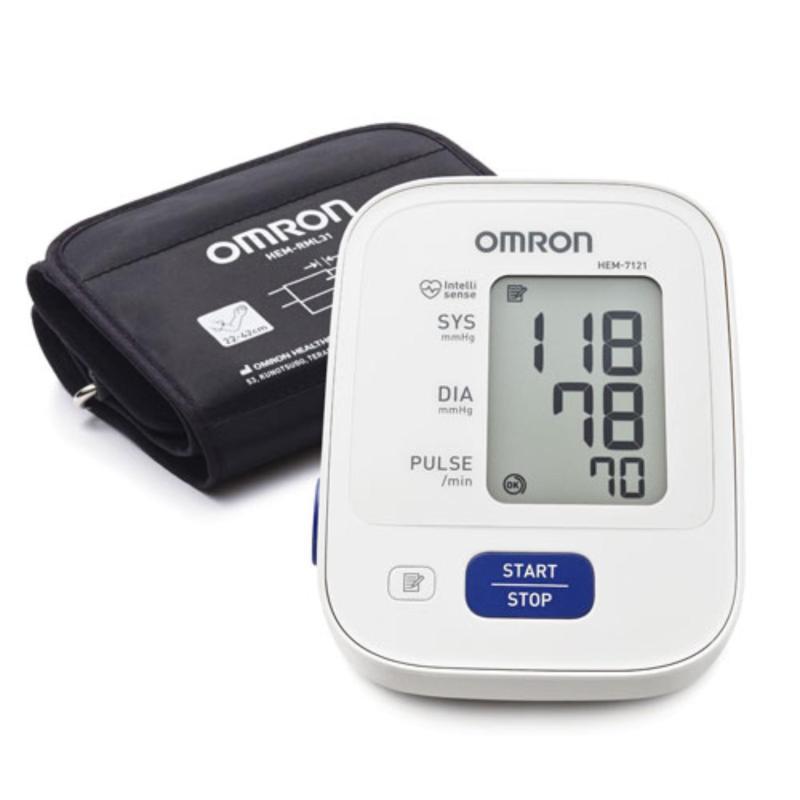 Nơi bán Máy đo huyết áp Omron HEM-7121 + Tặng kèm bộ AC-Adapter đổi nguồn