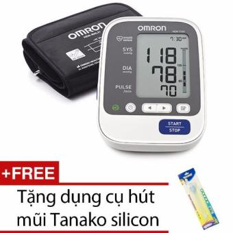 Máy đo huyết áp Omron Hem 7130 + Tặng dụng cụ hút mũi Tanako silicon
