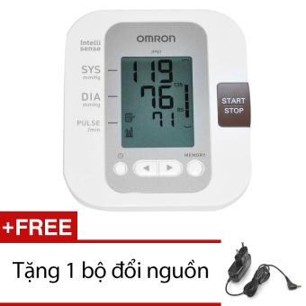 Máy đo huyết áp Omron JPN1 + Tặng bộ đổi nguồn