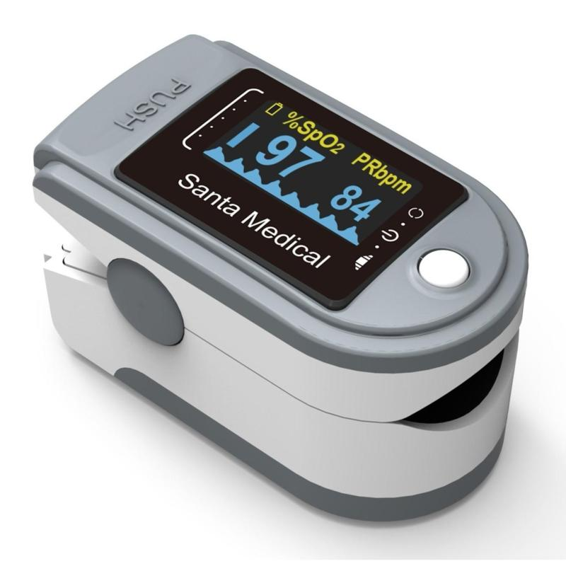 Máy đo nồng độ oxy trong máu Santa Medical SM 165 bán chạy
