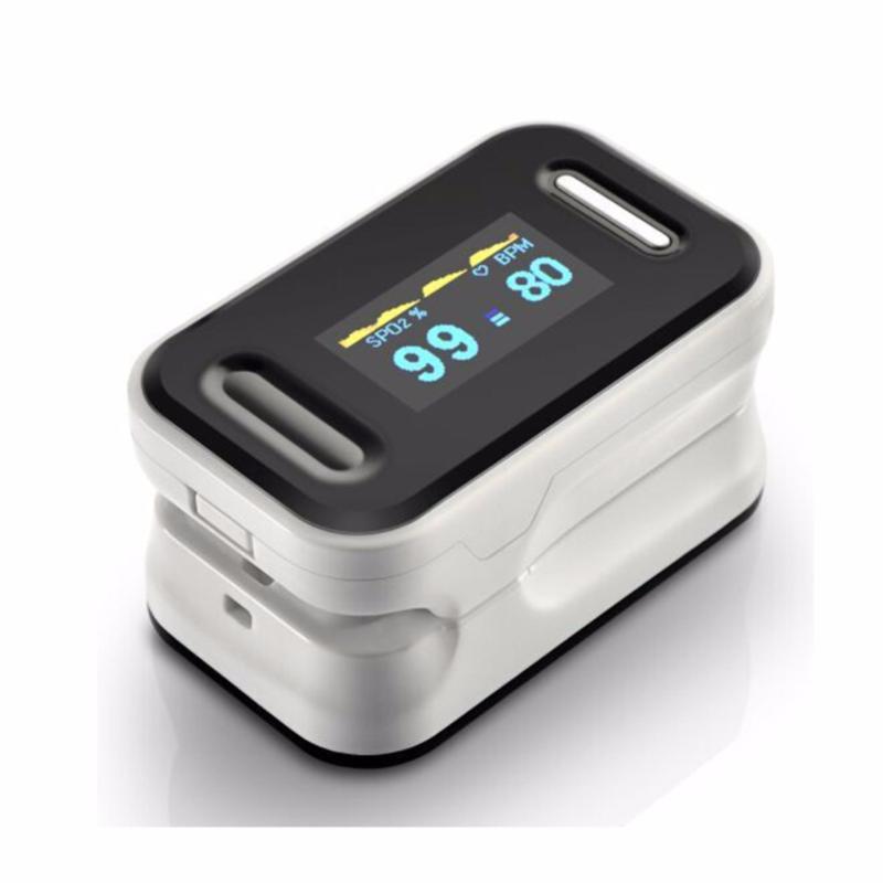 Nơi bán Máy đo nồng độ Oxy Trong máu SPO2 OX50 (Trắng Đen)
