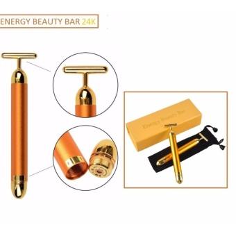 Máy masage Energy beauty bar gold 24k, chăm sóc da, thon gọn mặt...shopping