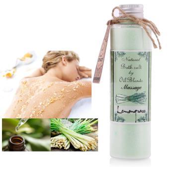 Muối massage tẩy tế bào chết tinh dầu sả chanh Ecolife cao cấp 200g