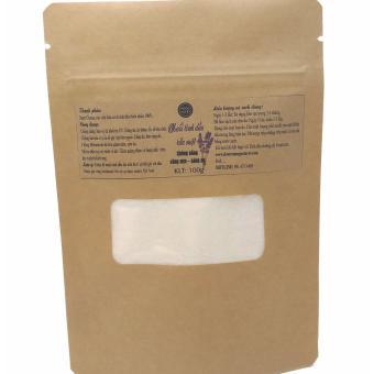 Muối tinh dầu rửa mặt mịn da oải hương 100gr Ngọc Tuyết 100% hữu cơ