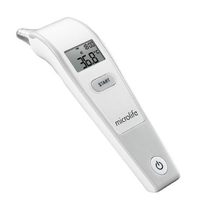 Nhiệt kế đo tai Microlife IR1DF1-1 (Trắng) bán chạy