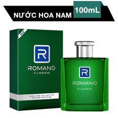 ROMANO EAU DE TOILETTE POUR HOMME CLASSIC  100ML