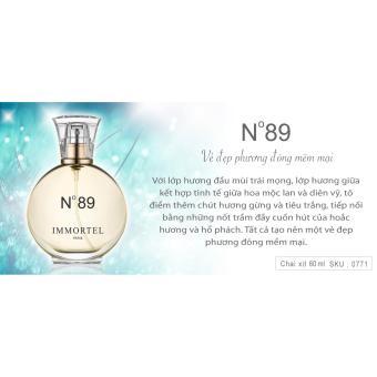 Nước hoa nữ IMMORTEL No89 Chai xịt 60ml EDP - 4