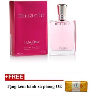 Nước hoa nữ Lancome Miracle Eau de Parfum 5 ml + Tặng bánh xà phòngoe