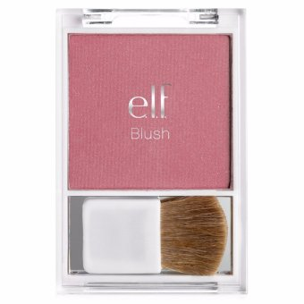 Phấn má hồng ánh nhũ Essential Blush with Brush elf -Flushed(Purple)