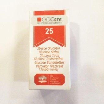 Que sử dụng cho máy đo đường huyết Ogcare (hộp 25 que)