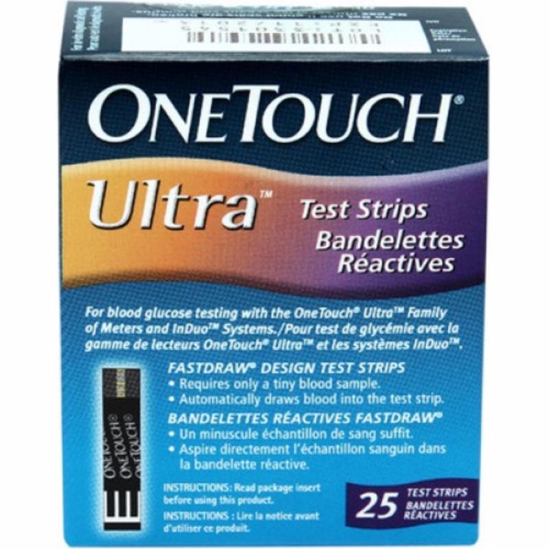 Nơi bán Que thử đường huyết One Touch Ultra 25 que
